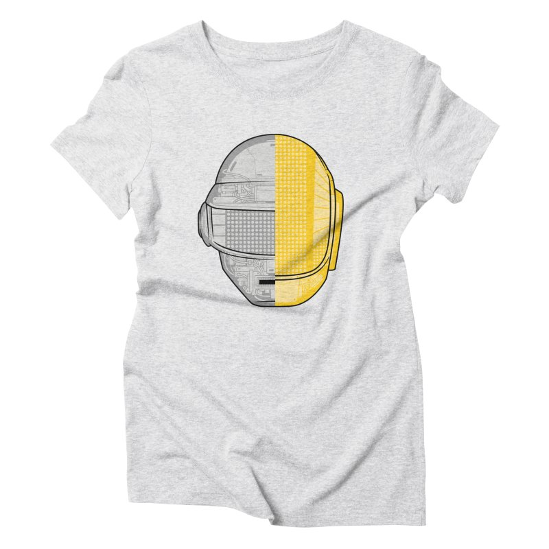 Daft Punk Anatomy Women's Triblend T-Shirt by ym graphix's Artist Shop