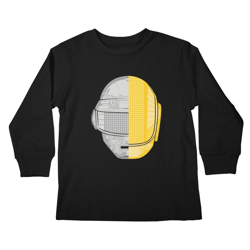 Daft Punk Anatomy Kids Longsleeve T-Shirt by ym graphix's Artist Shop