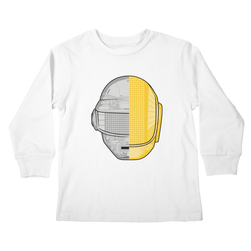 Daft Punk Anatomy Kids Longsleeve T-Shirt by ym graphix's Artist Shop