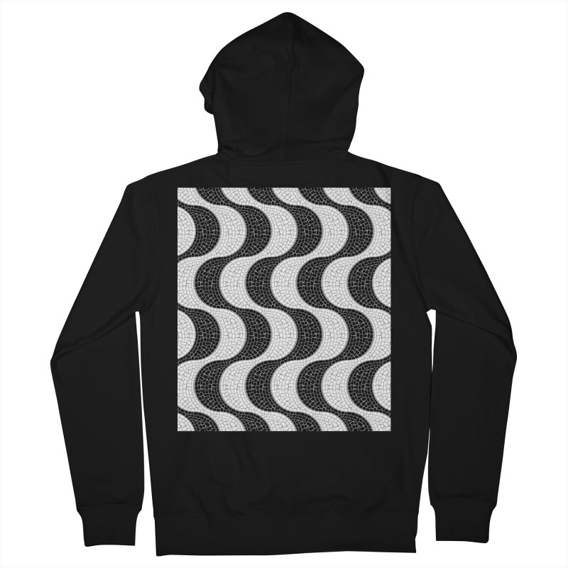 Copacabana Men's French Terry Zip-Up Hoody by ym graphix's Artist Shop