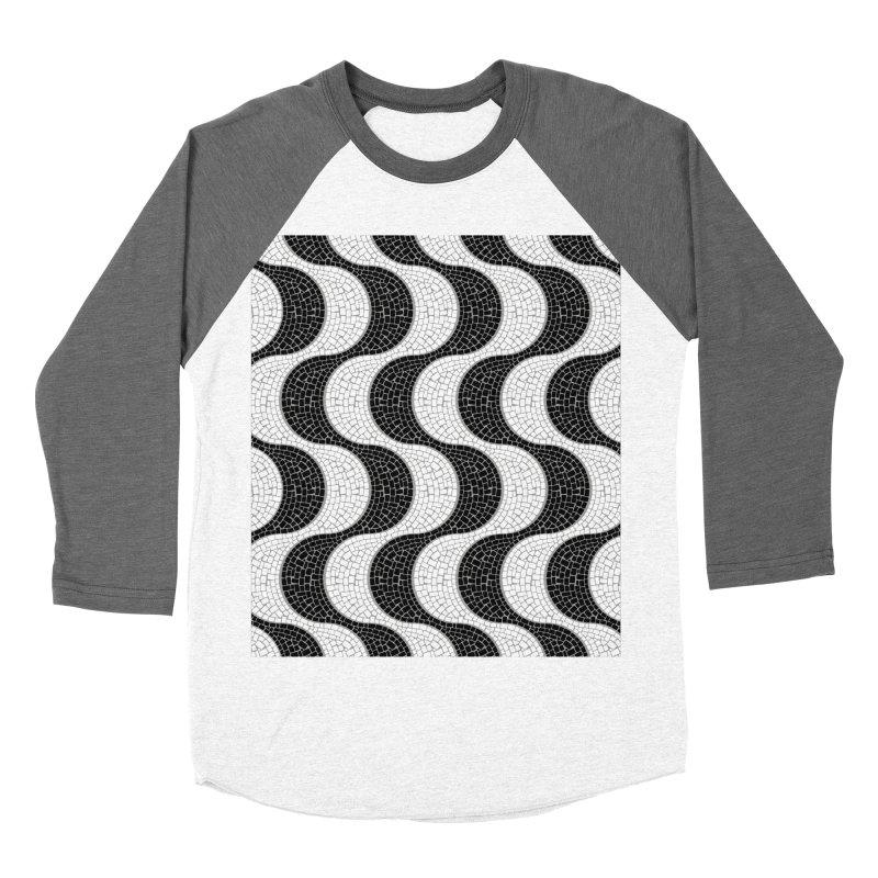 Copacabana Men's Baseball Triblend Longsleeve T-Shirt by ym graphix's Artist Shop