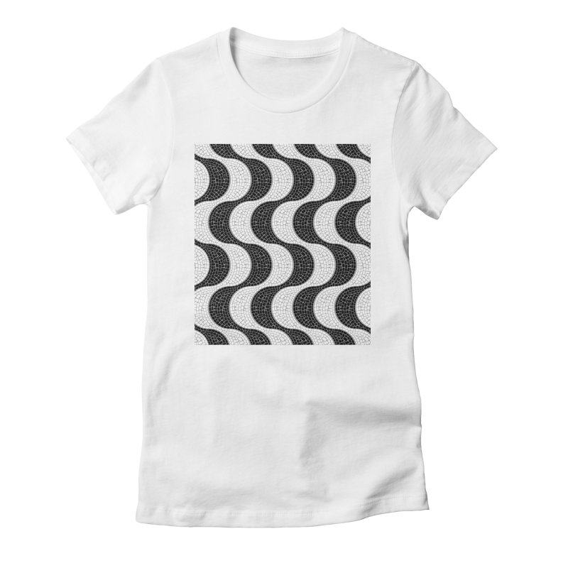 Copacabana Women's Fitted T-Shirt by ym graphix's Artist Shop