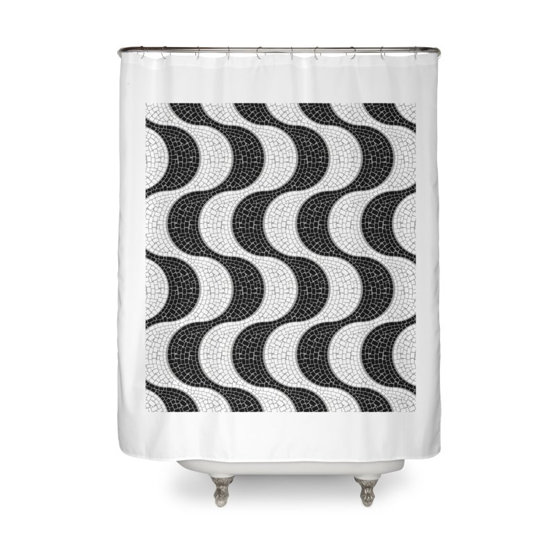 Copacabana Home Shower Curtain by ym graphix's Artist Shop