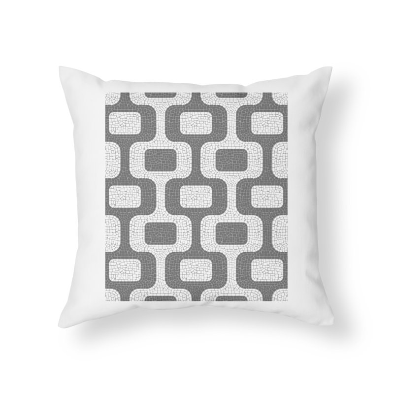 Ipanema Home Throw Pillow by ym graphix's Artist Shop