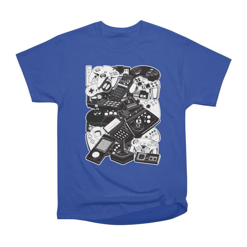 Joysticks & Controllers Women's Classic Unisex T-Shirt by ym graphix's Artist Shop