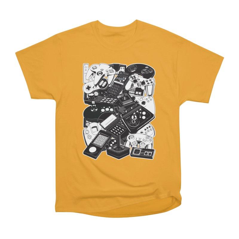 Joysticks & Controllers Men's Classic T-Shirt by ym graphix's Artist Shop