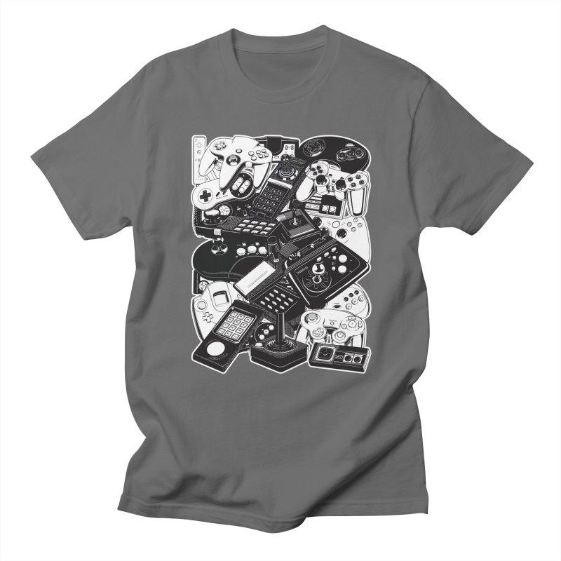Joysticks & Controllers Women's Unisex T-Shirt by ym graphix's Artist Shop