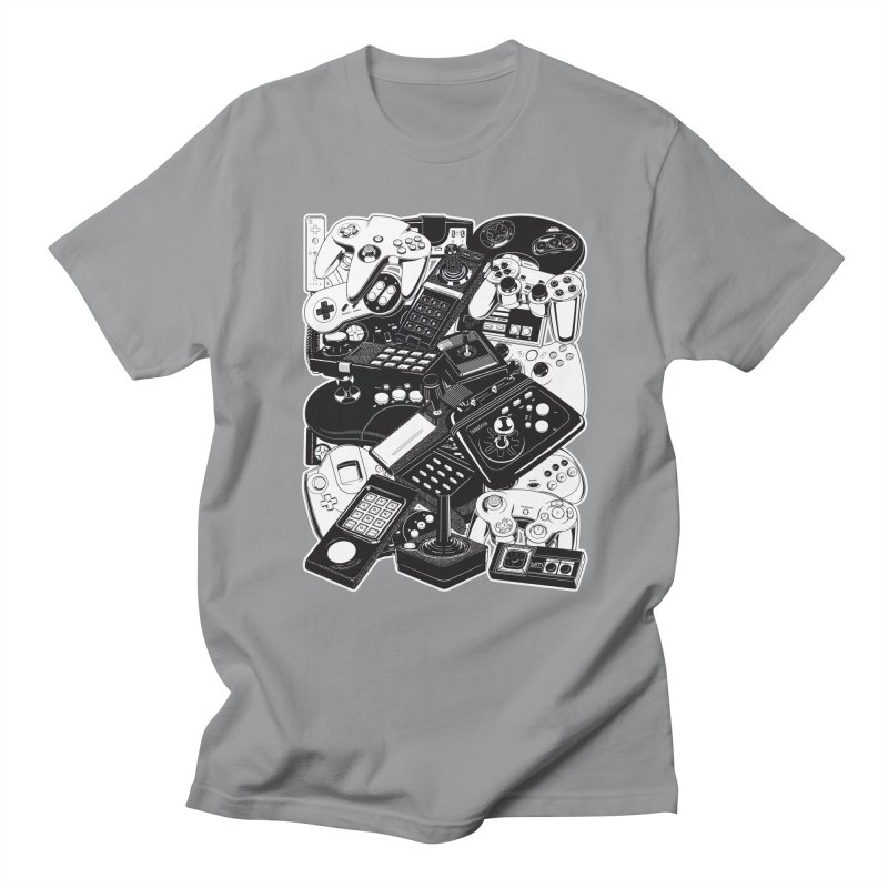 Joysticks & Controllers Women's Unisex T-Shirt by ym graphix's Artist Shop