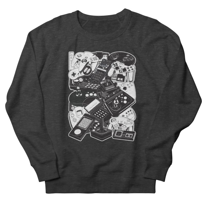 Joysticks & Controllers Women's Sweatshirt by ym graphix's Artist Shop
