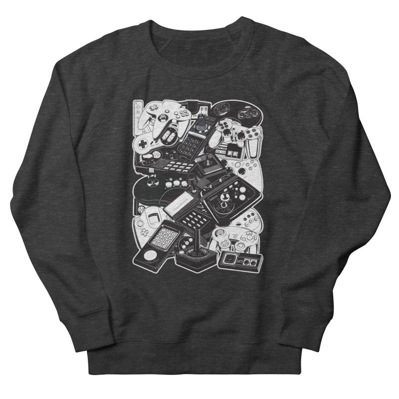 Joysticks & Controllers Men's Sweatshirt by ym graphix's Artist Shop