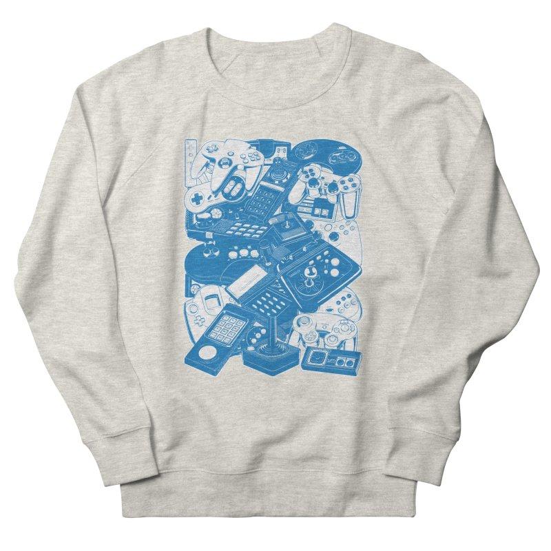 Joysticks & Controllers (blue) Women's Sweatshirt by ym graphix's Artist Shop