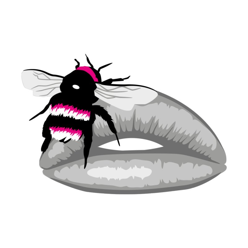 Bee-Stung Lips by ym graphix's Artist Shop