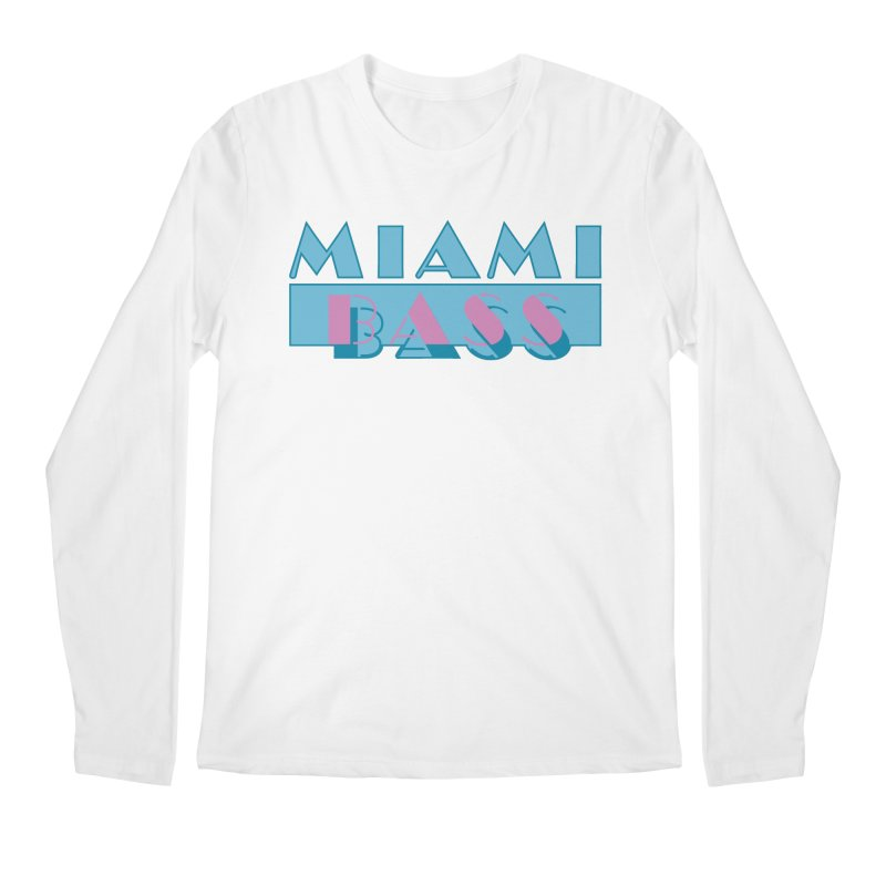 Miami Bass Men's Regular Longsleeve T-Shirt by ym graphix's Artist Shop