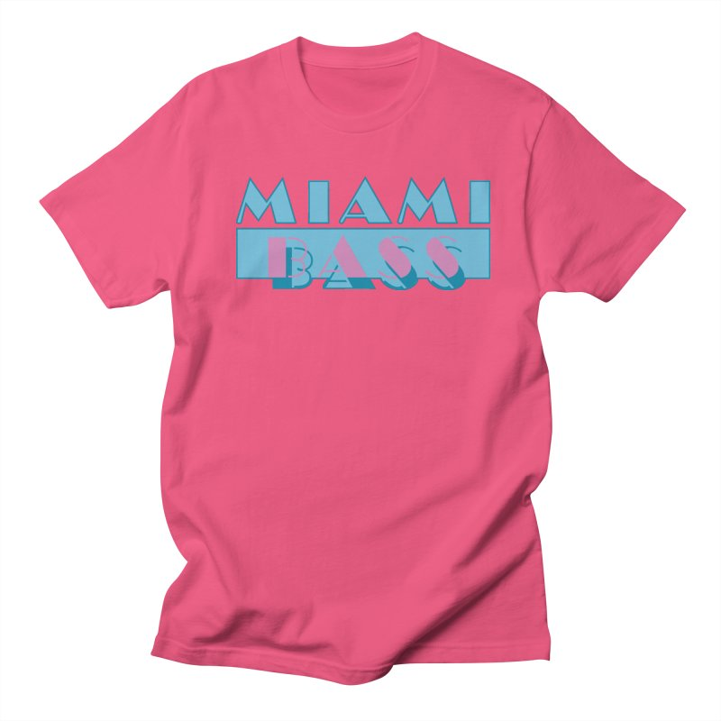 Miami Bass Men's Regular T-Shirt by ym graphix's Artist Shop