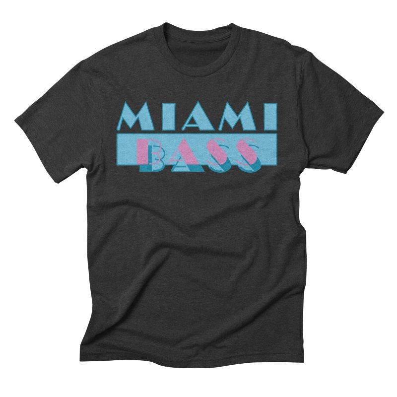 Miami Bass Men's Triblend T-shirt by ym graphix's Artist Shop