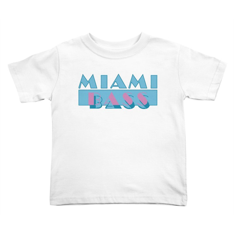Miami Bass Kids Toddler T-Shirt by ym graphix's Artist Shop