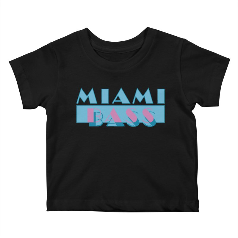 Miami Bass Kids Baby T-Shirt by ym graphix's Artist Shop