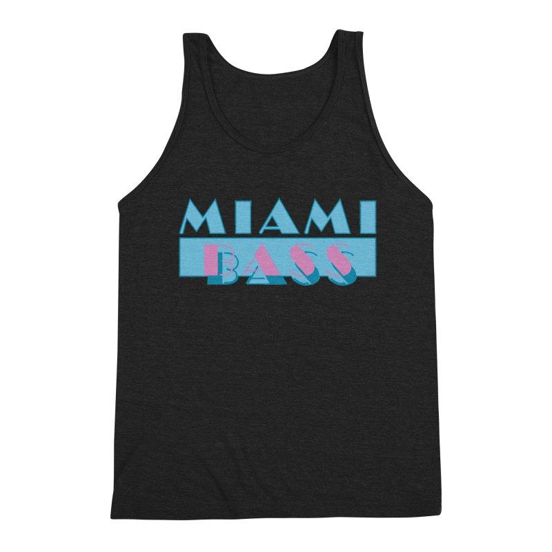 Miami Bass Men's Triblend Tank by ym graphix's Artist Shop