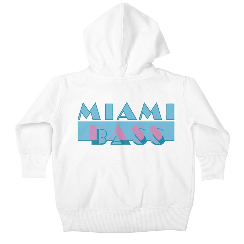 Miami Bass Kids Baby Zip-Up Hoody by ym graphix's Artist Shop