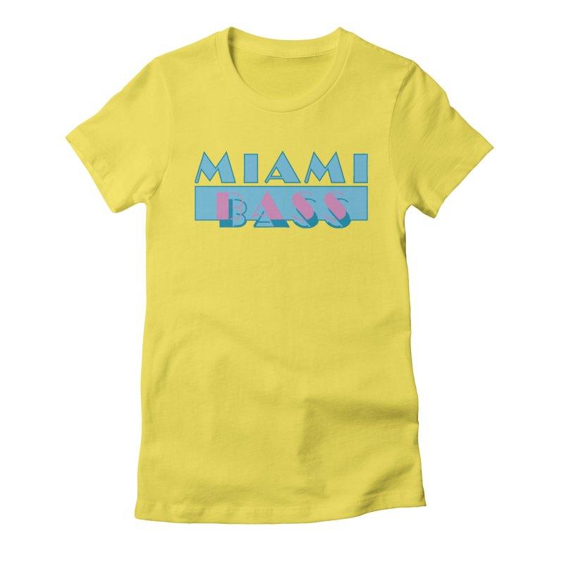 Miami Bass Women's T-Shirt by ym graphix's Artist Shop
