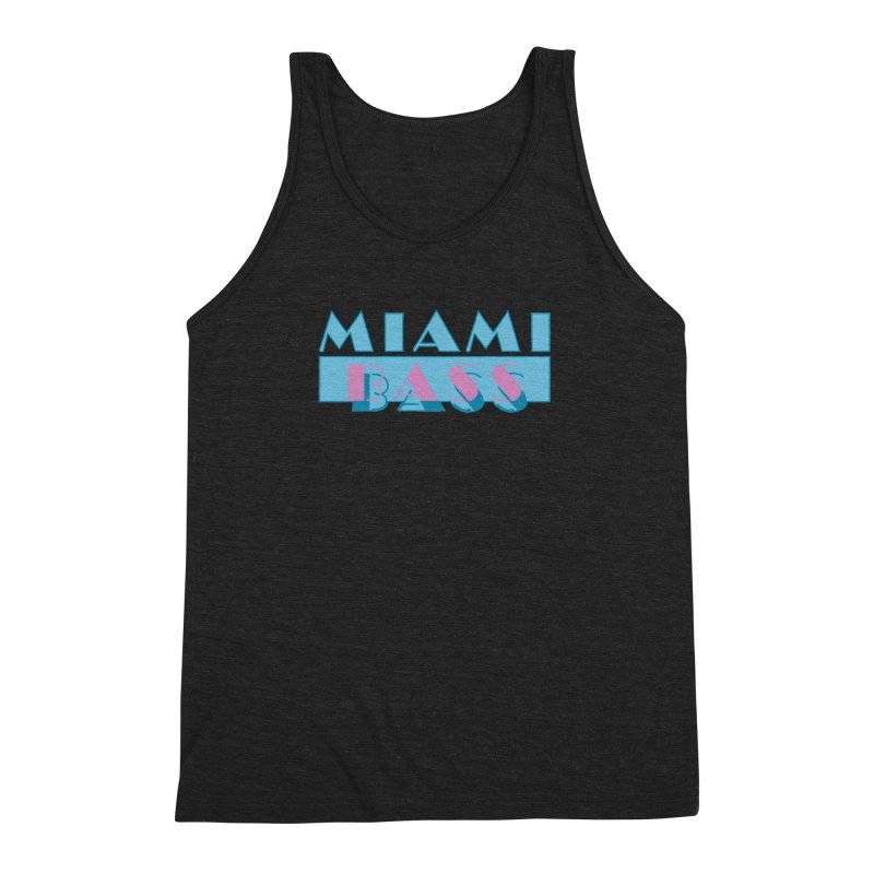 Miami Bass Men's Triblend Tank by ym graphix's Artist Shop
