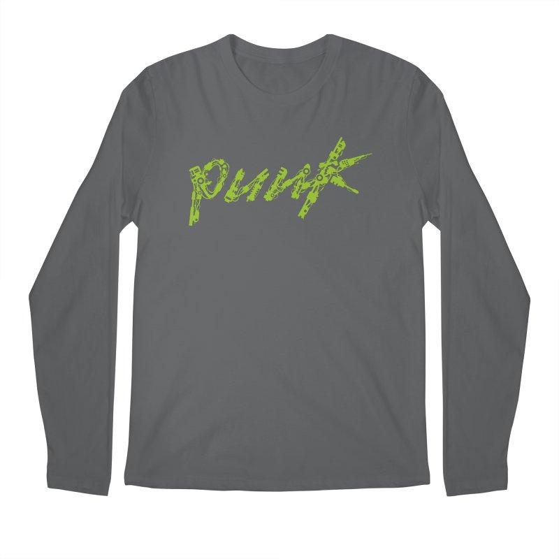Cyber Punk Men's Regular Longsleeve T-Shirt by ym graphix's Artist Shop