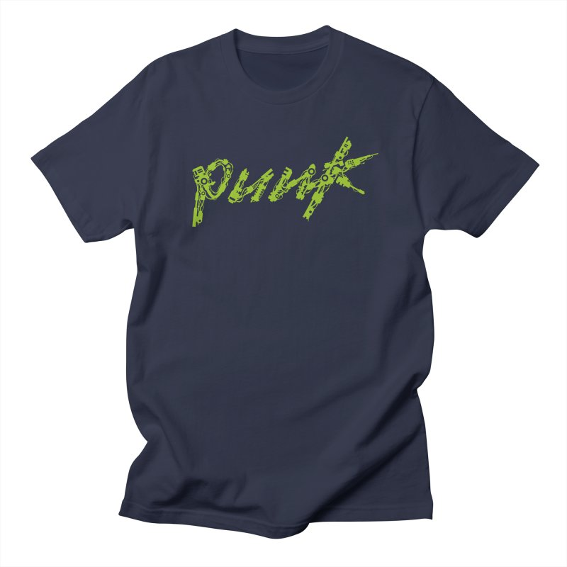 Cyber Punk Men's T-shirt by ym graphix's Artist Shop