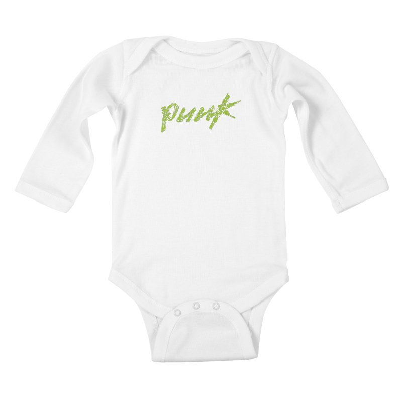Cyber Punk Kids Baby Longsleeve Bodysuit by ym graphix's Artist Shop