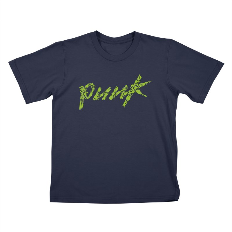 Cyber Punk Kids T-Shirt by ym graphix's Artist Shop