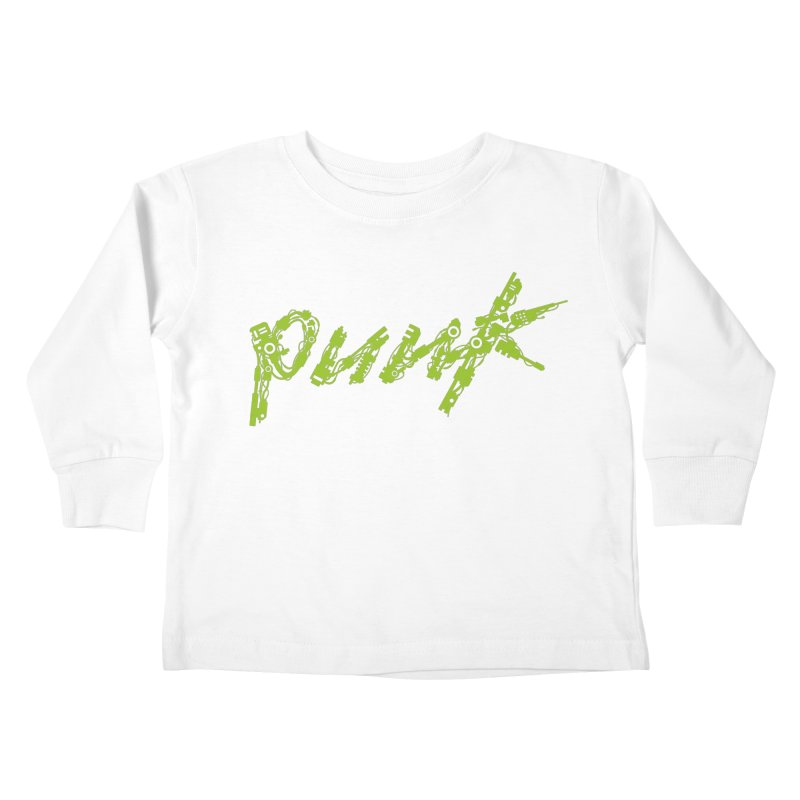 Cyber Punk Kids Toddler Longsleeve T-Shirt by ym graphix's Artist Shop