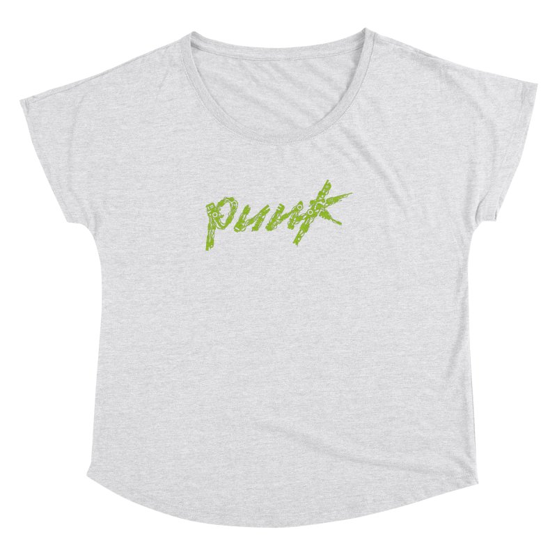 Cyber Punk Women's Dolman Scoop Neck by ym graphix's Artist Shop