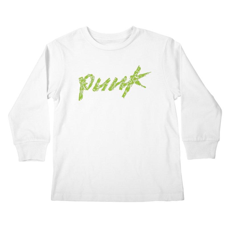 Cyber Punk Kids Longsleeve T-Shirt by ym graphix's Artist Shop