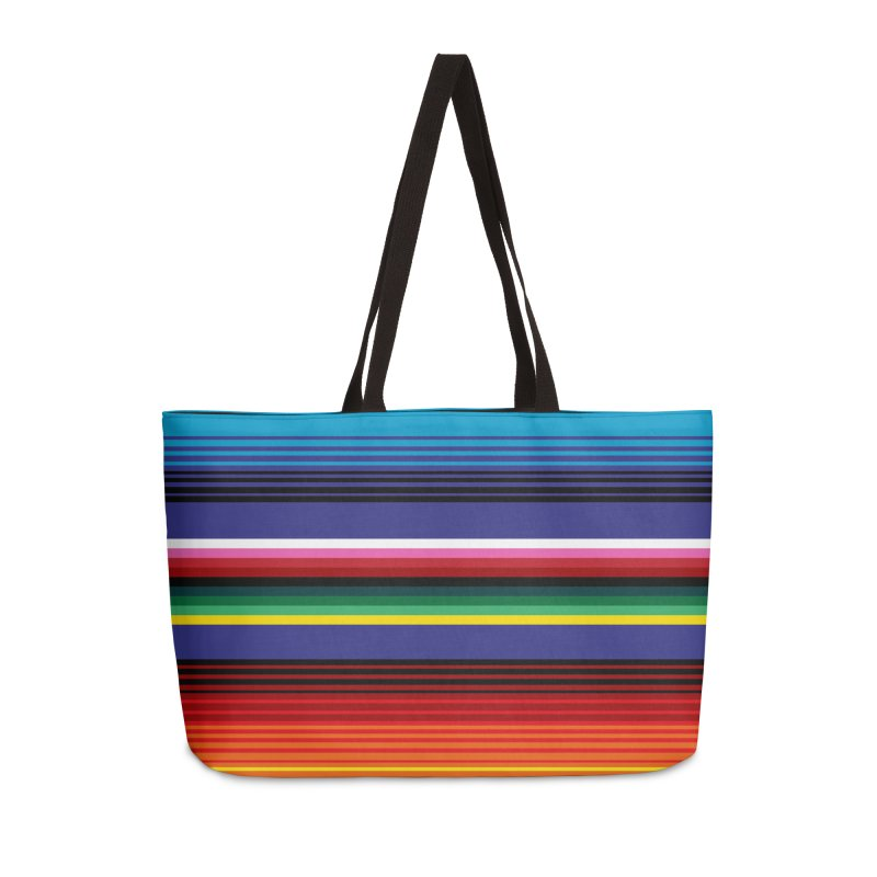 Mexican Stripes Accessories Weekender Bag Bag by ym graphix's Artist Shop