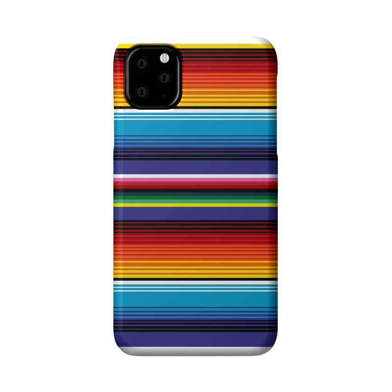 Mexican Stripes Accessories Phone Case by ym graphix's Artist Shop