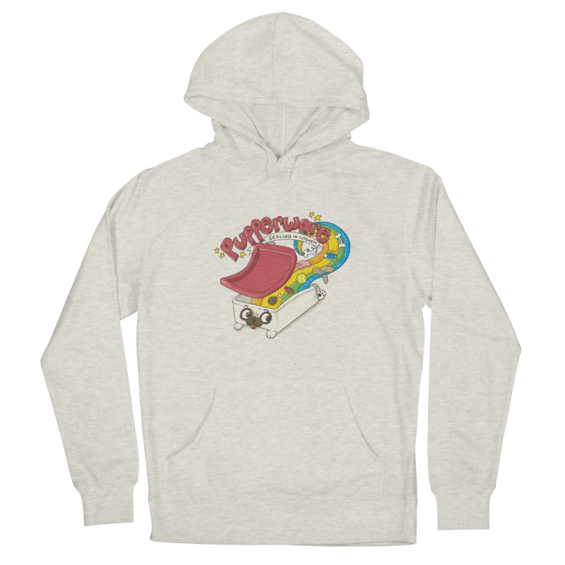 Pupperware V2 Women's French Terry Pullover Hoody by YNC