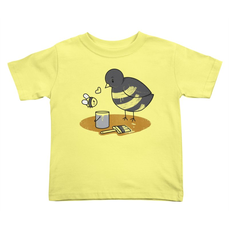 A Bird and a Bee Kids Toddler T-Shirt by YNC