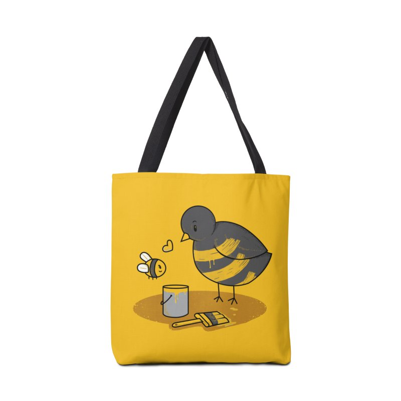 A Bird and a Bee Accessories Tote Bag Bag by YNC