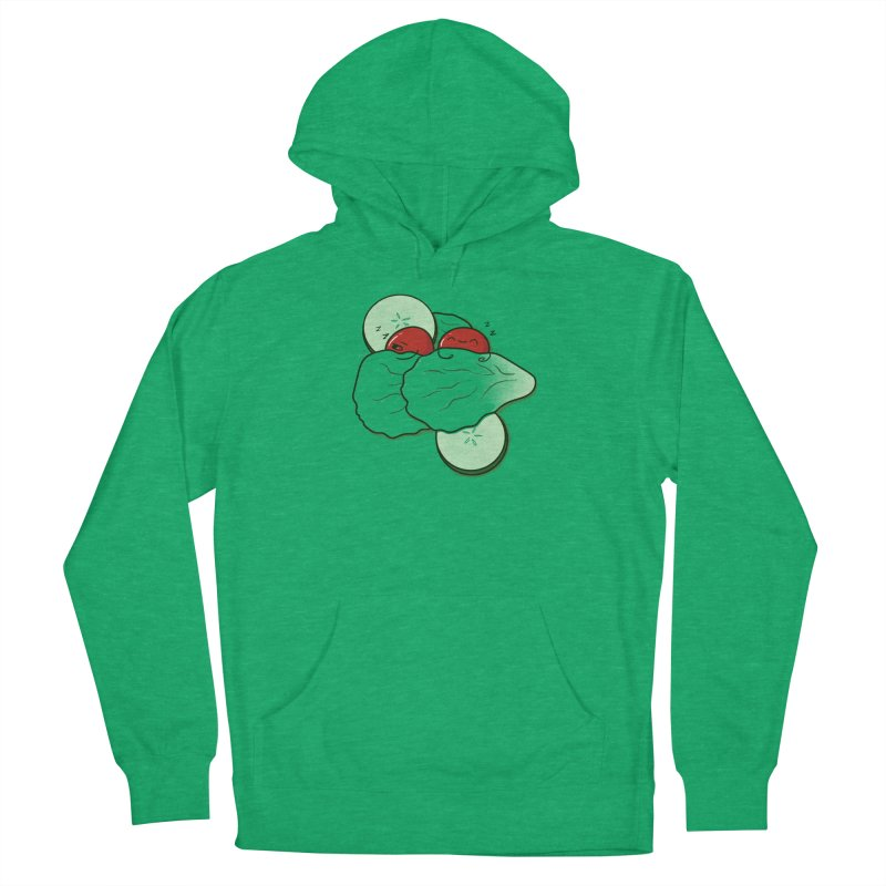 Bed of Lettuce Women's French Terry Pullover Hoody by YNC