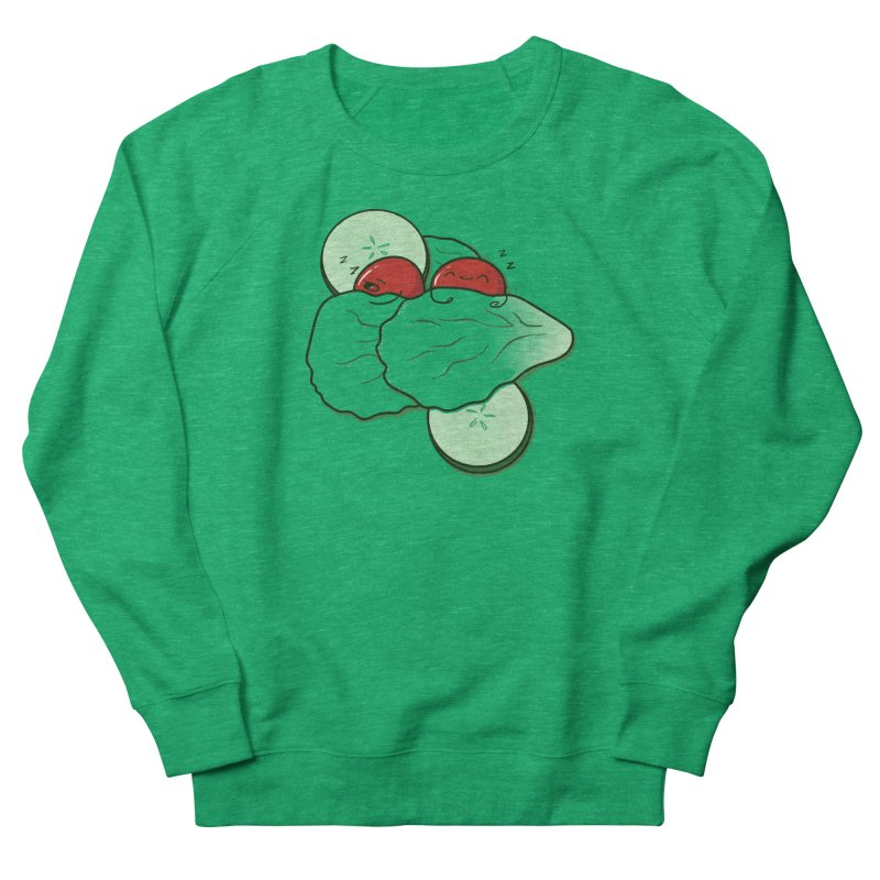 Bed of Lettuce Men's French Terry Sweatshirt by YNC