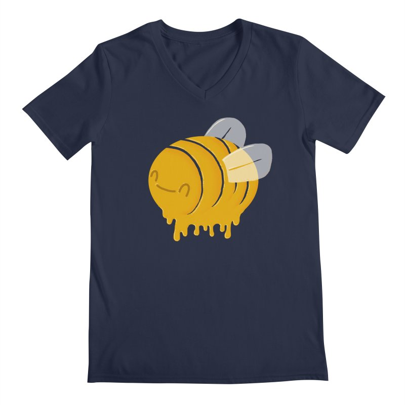 Honey Bee Men's V-Neck by YNC