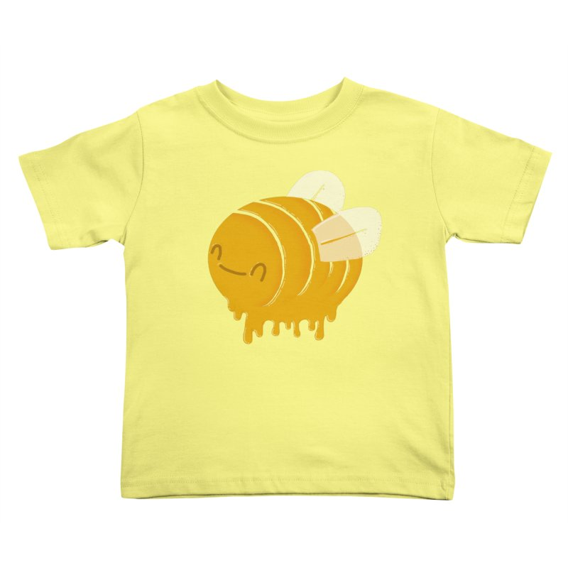 Honey Bee Kids Toddler T-Shirt by YNC