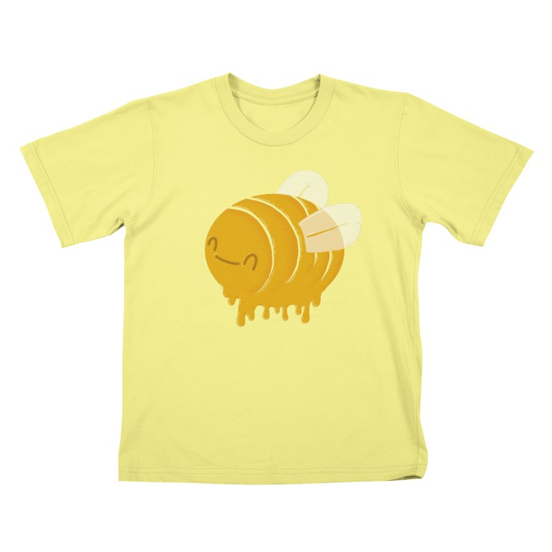 Honey Bee Kids T-shirt by YNC