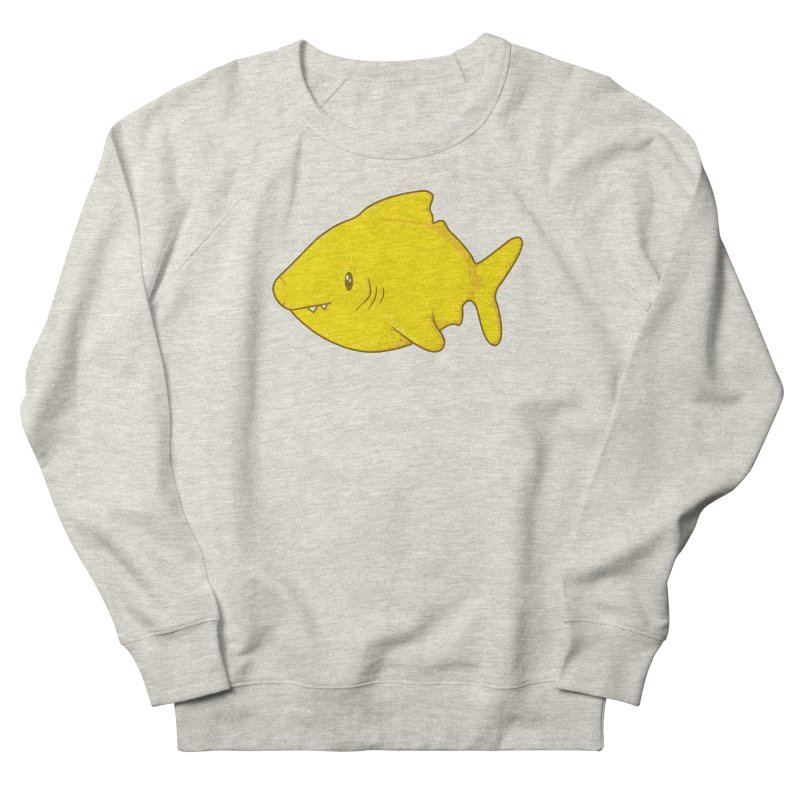Lemon Shark Men's French Terry Sweatshirt by YNC