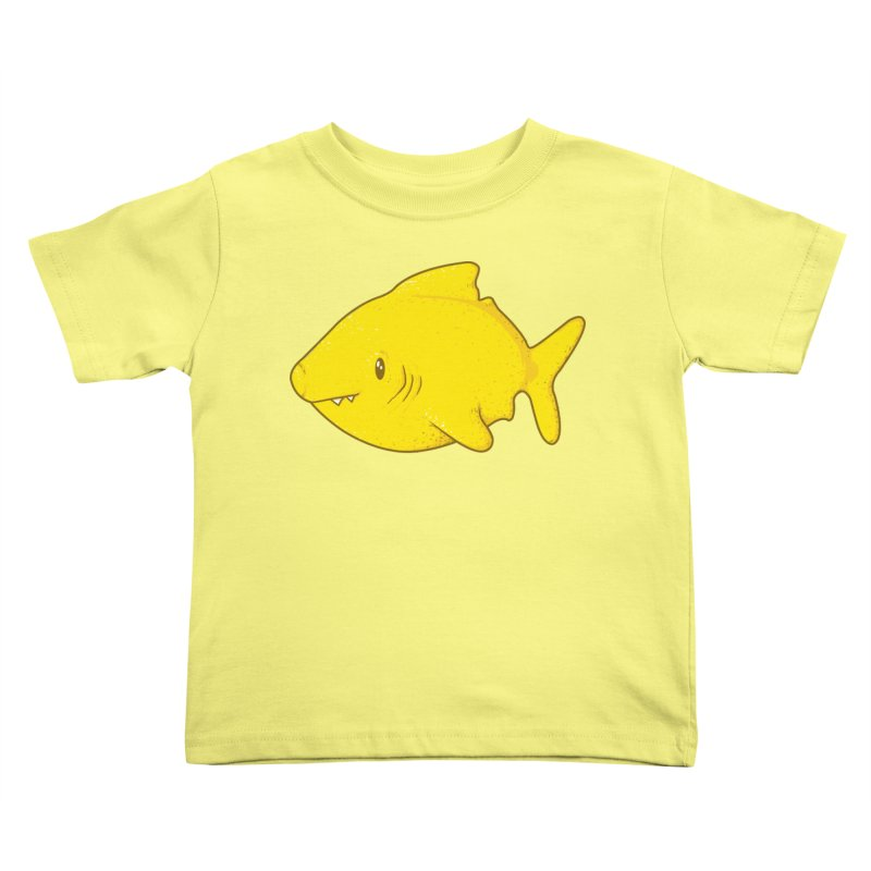 Lemon Shark Kids Toddler T-Shirt by YNC