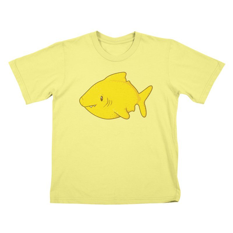 Lemon Shark Kids T-shirt by YNC