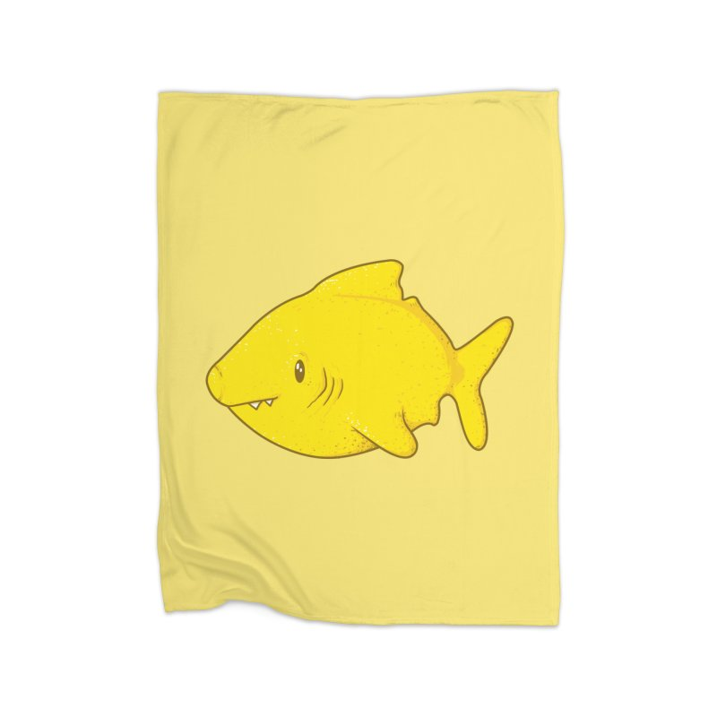 Lemon Shark Home Blanket by YNC