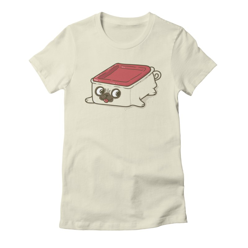 Pupperware Women's Fitted T-Shirt by YNC