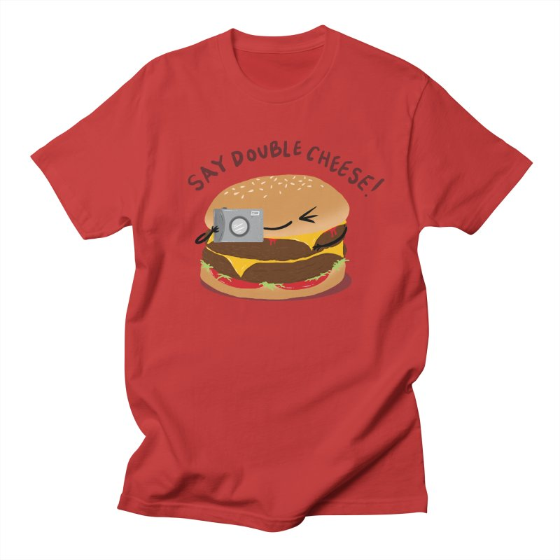 Say Cheeseburger Men's Regular T-Shirt by YNC