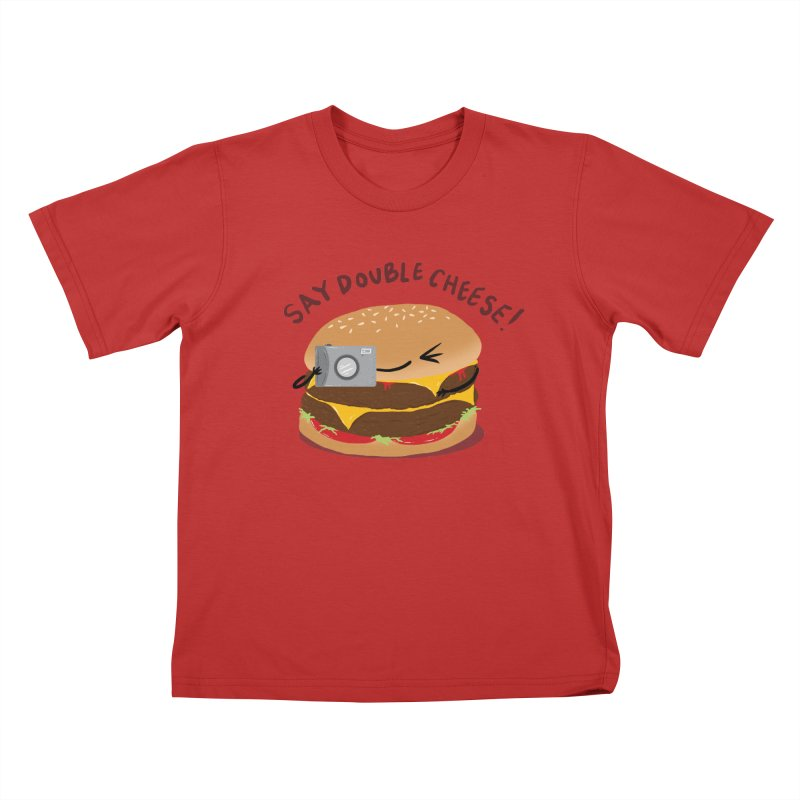 Say Cheeseburger Kids T-Shirt by YNC
