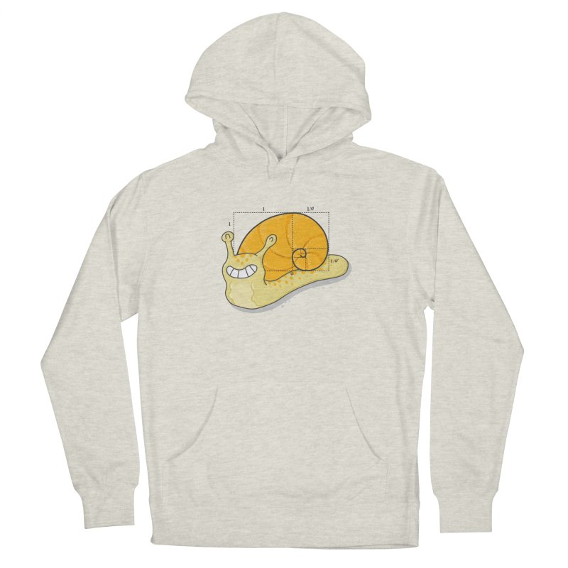 The Golden Spiral  Women's French Terry Pullover Hoody by YNC